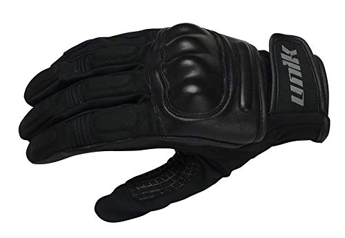 UNIK Summer C-38 Gloves Pair Guantes, Hombre, Negro, X-Small