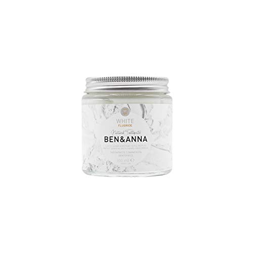 Ben&Anna Toothpaste White with Fluoride, 100 ml
