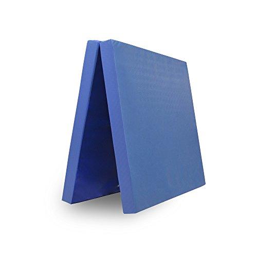 Grevinga® klappbare Turnmatte - Restposten - RG 35 - 200 x 100 x 8 cm in blau