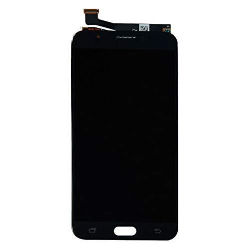 Repuesto de pantalla LCD para Samsung J7 2017 Prime, digitalizador táctil de repuesto para reparación de marco, piezas de teléfono duradero y pantalla LCD, negro