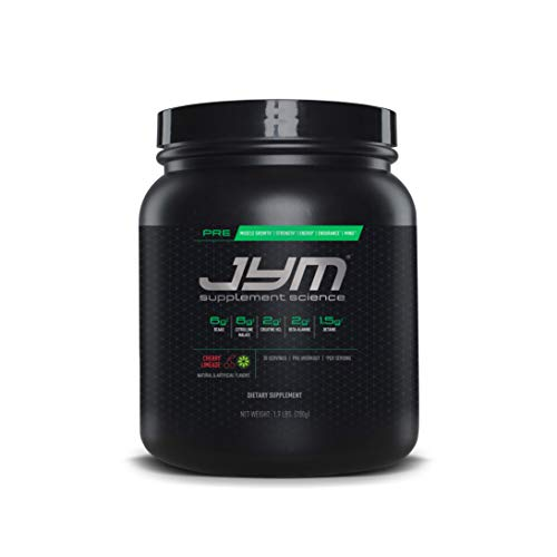 JYM Supplement Science Pre JYM 30 Servings Cherry Limeade