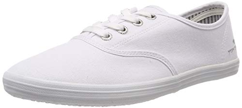 TOM TAILOR Damen 6992401 Sneaker, Weiß (White 00002), 38 EU