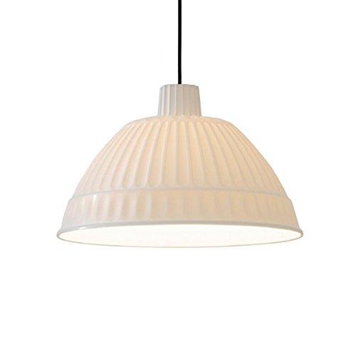 Cloche - Suspension blanc translucide/mat/Ø45cm/gradable extérieur