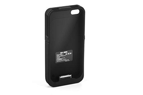 ELBE CARG-iP4 - Funda-batería para iPhone 4 / 4S, color negro