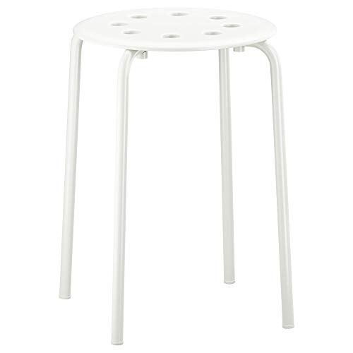 Ikea Marius Stool, White