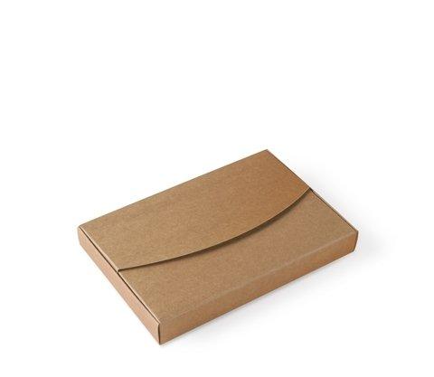 Kraft-gekleurde doos voor foto's. Perfect voor bruiloften, doopfeesten. 50 stuks S