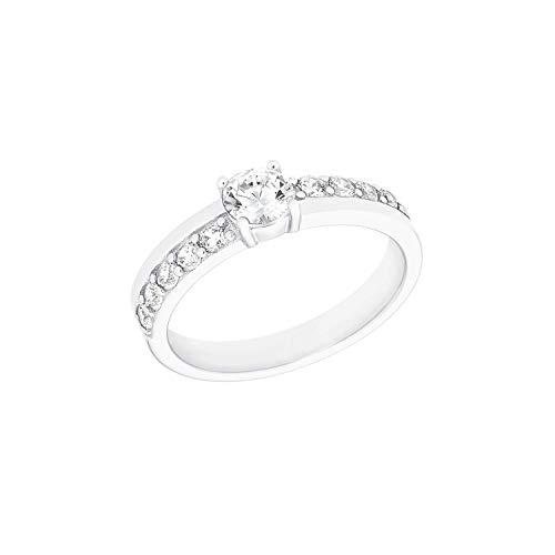 s.Oliver Ring für Damen aus 925 Sterling Silber mit Zirkoniasteinen