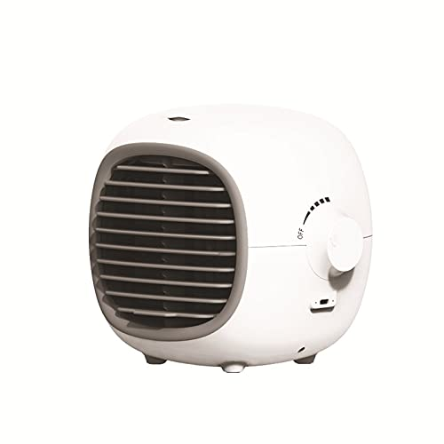 Ventilador De Escritorio USB, Mini Humidificador, Humidificador Silencioso Con Enfriador De Aire, Ventilador De Aire Acondicionado De Escritorio, Con Ventilador De Enfriamiento Por Pulverización,B