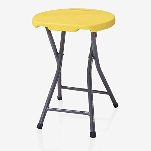 WangJIANG inklapbare kruk van kunststof kleine ronde kruk kantoor vrije tijd outdoor vissen beweegbare stoel krukken