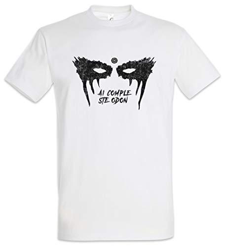 Urban Backwoods Lexa Fight Is Over Camiseta De Hombre T-Shirt Blanco Talla S