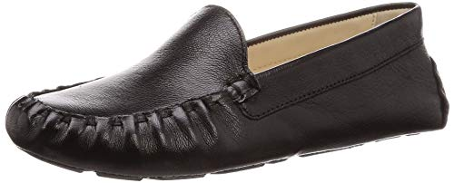 Cole Haan Women's Footwear:Driver Driving Style Loafer, Black Leather