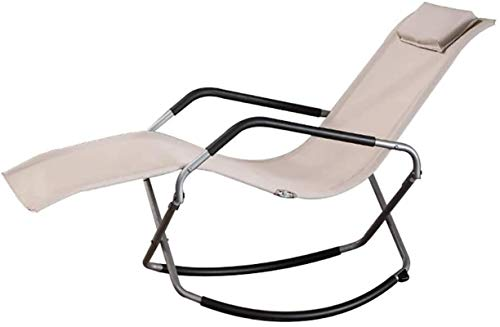 Office Life Zero Gravity Chair Comfortable Rocking Chair, Zero Gravity Lounge Chair Patio Relax Reclining Chairs Folding Saving Space Sun Lounger (Color : A) (Color : C)