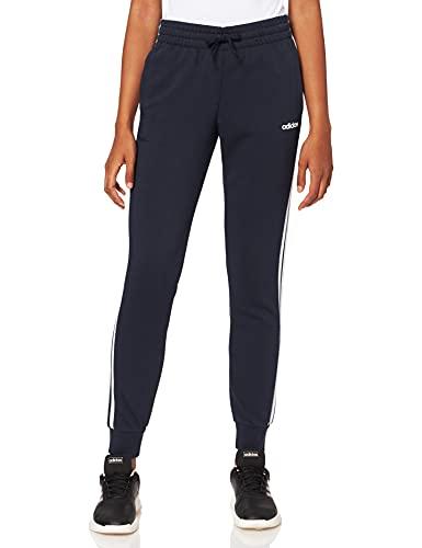adidas W E 3s Pant Pantalones Deportivos, Mujer, Azul (Legend Ink/White), L