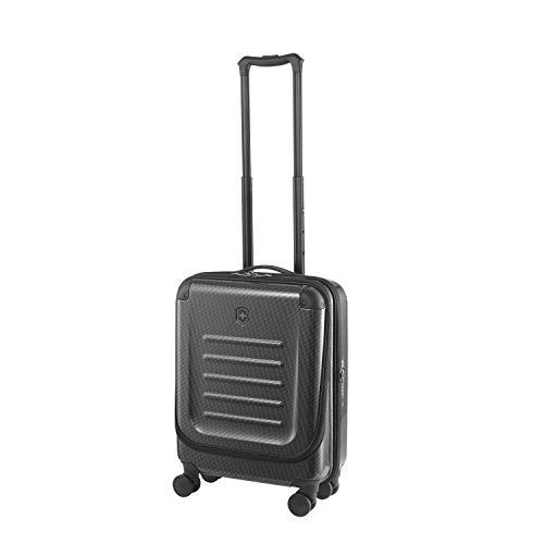 Victorinox Spectra 2.0 Dual Access Global Carry-On - Maleta rígida con ruedas (20 x 38 x 55 cm), color negro