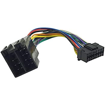 Amazon.com: FEELDO Car Stereo Radio Wire Harness Adapter For Sony 16-Pin  Connector Into Radio To ISO 10487 Connector Into Car: AutomotiveAmazon.com