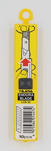 Tajima LB50CDbulk mesjes, reservemesjes ENDURA (geschikt voor karton, leer, droogbouw, multiplex, behang, folie, vloerbedekking, afdichtingsmassa) 10 stuks