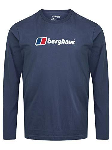 Berghaus Camiseta de Manga Larga con Logo Big Corp para Hombre