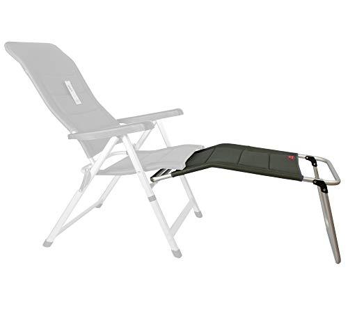 osoltus Alu Fußablage Fußhocker für Campingsessel Soft Touch 3D MESH AIR anthrazit