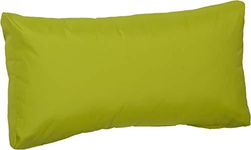 Beo Beo LRP 80x40PY203 Lounge Rückenkissen mit Reissverschluss und wasserabweisendem Stoff, hellgrün, 80 x 40 cm