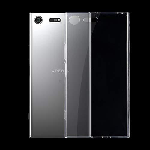 Zhouzl Custodie Sony Custodia Protettiva in TPU Trasparente Ultrasottile for Sony Xperia XZ Premium 0,75 mm (Trasparente) Custodie Sony (Colore : Transparent)