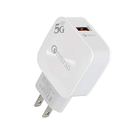 wpOP59NE Fast Charger Universal Quick Charge QC 3.0 USB Mobile Phone Fast Charger US Plug Adapter Fast Charger White US Plug^