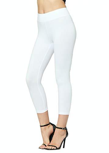 Premium Soft Cotton Leggings - Wide Waistband - Reg/Plus Sizes - Shorts, Capri and Full Length...