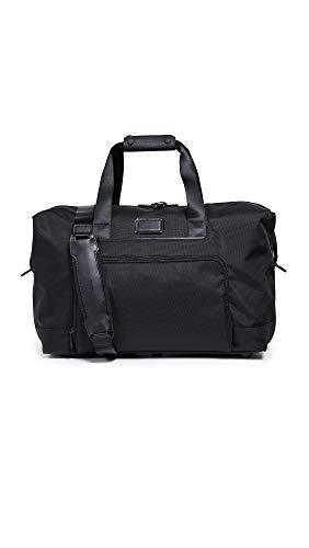 TUMI - Alpha 3 Double Expansion Travel Satchel - Duffle Bag for Men and Women - Black