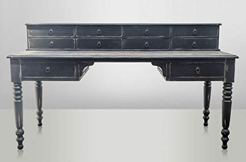 Casa Padrino Luxus Antik Stil Sekretär Schreibtisch - Massiv England Vintage Wood - Empire Jugendstil Barock Kolonial - Massivholz