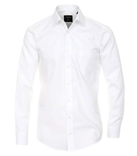 Casa Moda - Modern Fit - Bügelfreies Herren Business Langarm Hemd (006550)