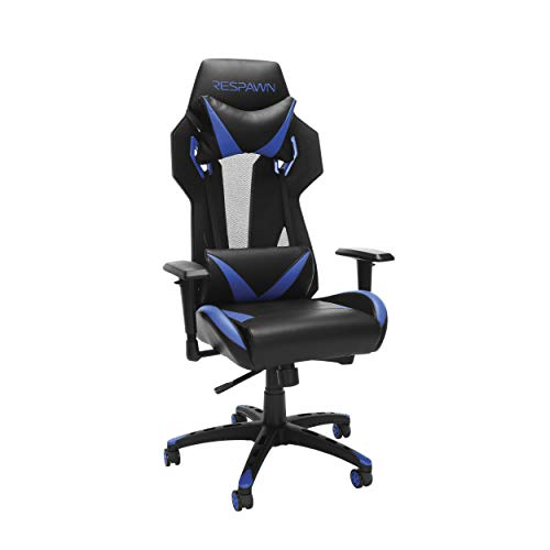 RESPAWN 205 Racing Style Gaming Chair, in Blue blue chair gaming