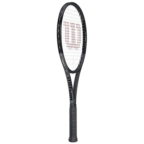 Wilson Pro Staff RF 97 Black Federer Autograph Tennis Racquet - Quality String