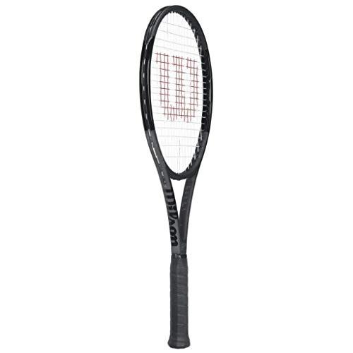 Wilson Pro Staff RF 97 Black Federer Autograph Tennis Racquet - Quality String (4-3/8) RF97