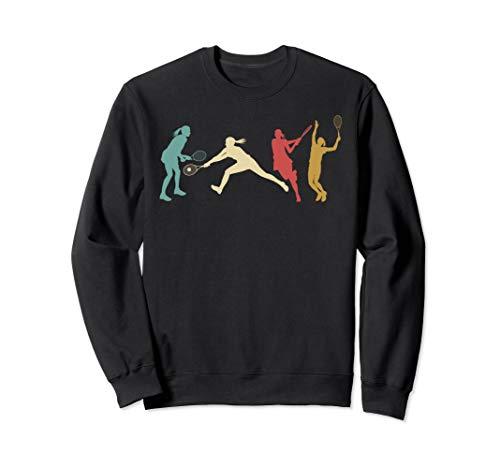 Vintage Tennis Women Sweatshirt