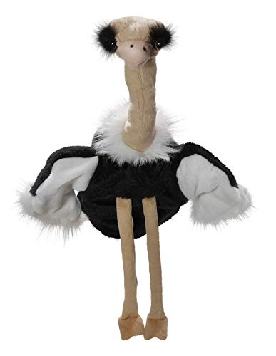Carl Dick Peluche - Aves Avestruz Marioneta (Felpa, 30cm/40cm) [Juguete] 3462