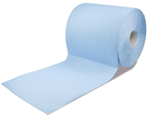 RS1000 30145 Auto Profi-Putztuchrolle blau, 2-lagig, Blattgröße 23 x 30 cm, 300 Blatt