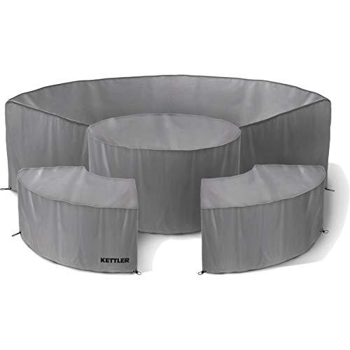 KETTLER Protective Cover Palma Round Set Grey