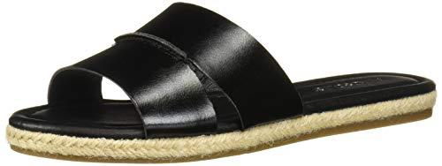 Aerosoles Women's Back Drop Flat Sandal, Black, 9 M US