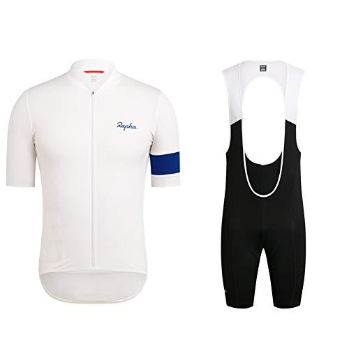 Cycling Clothing Short Sleeve Mountain Bike Shorts Racing Gear Team Jersey Casual Riding Kits Cycling Jersey Suit Quick Drying (2XL)