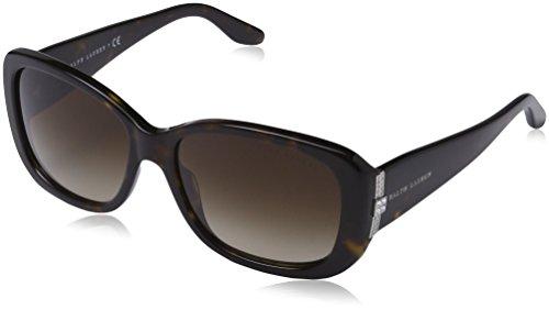 Ralph Lauren 0Rl8127B Gafas de Sol, Dark Havana, 55 para Mujer