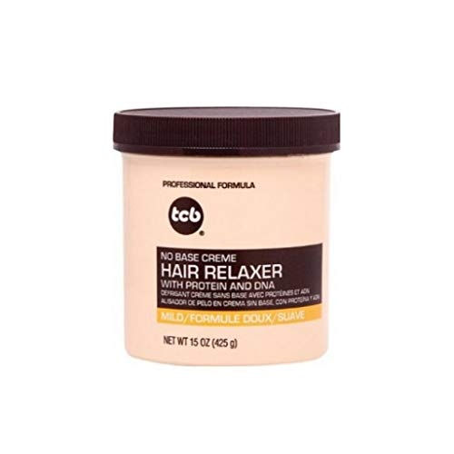 TCB 425 g Hair Relaxer Lid Strength Professional No Base Crème