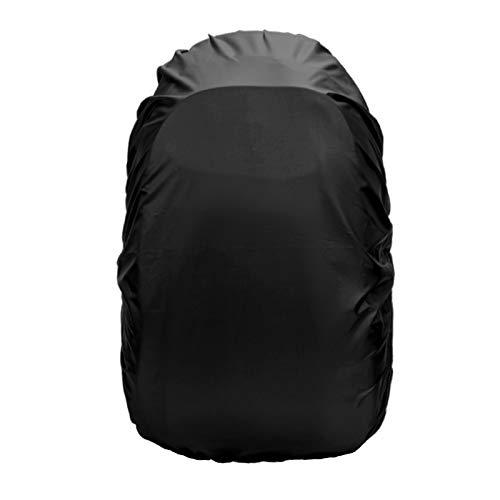 Frelaxy リュックカバー レインカバー 2倍以上の防水性 8色 5サイズ (L, ブラック)