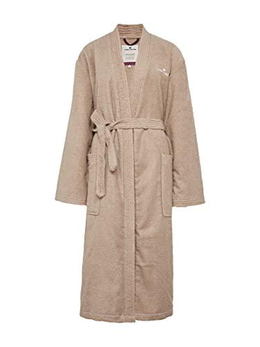 TOM TAILOR 0100300 Peignoir de Bain Kimono Taille, Torchon, Sand, XS