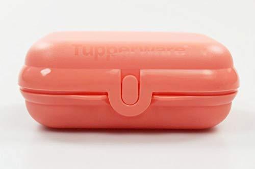 Tupperware Twin to Go lachs Brotdose Behälter Lunchbox Twin klein Größe 2 38125