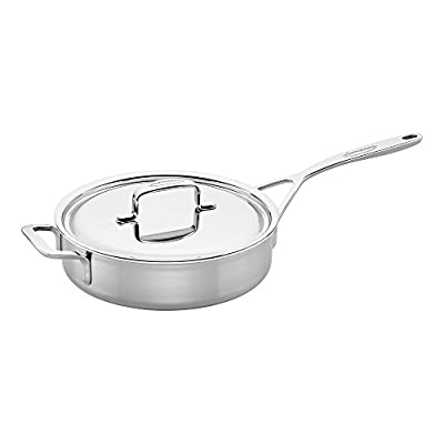 Demeyere 5-Plus Stainless Steel 3-qt Saute Pan