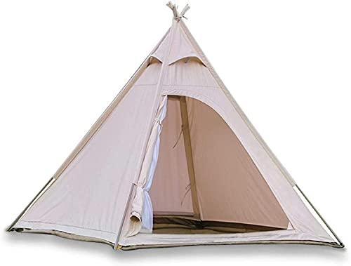 Ankon Tragbare Strand Markise Zelt Zelte Für Camping Gartenzelt Kids Zelt Camping Zelt, 2,2m 100% Baumwolle Leinwand Bell Zelt, Glamping Zelt, Für Jagd Rucksacking Wandern...