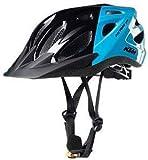 KTM Trekking Fahrrad Helm - Youth - Gr.51-56 - Schwarz/Hellblau