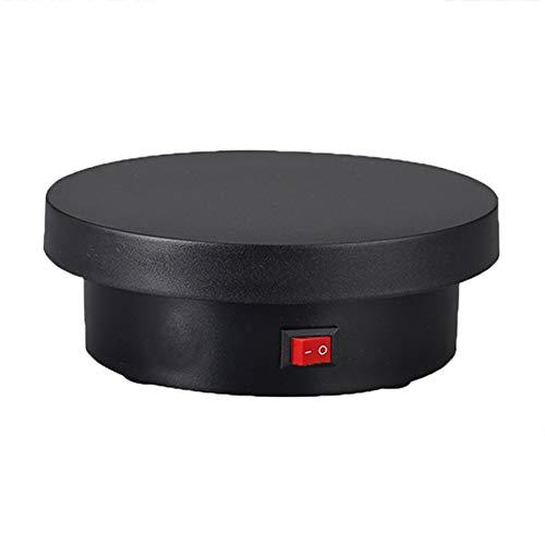 HHXD Base giratoria eléctrica de 360°,Plataforma Rotatoria Batería,Para Exhibición de Productos al...