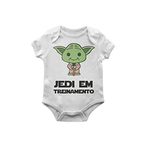 Body Bebê Star Wars Yoda jedi em treinamento TAM G