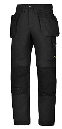 Hultafors Group AB Snickers Workwear 62010404054 Arbeitshose mit Holstertaschen AllroundWork Größe 54 in schwarz