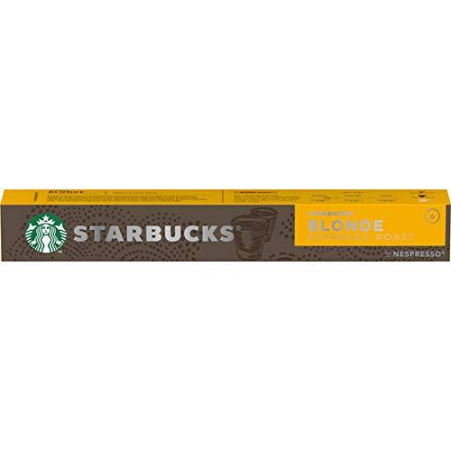 Starbucks Blonde Nespresso Cápsulas (paquete de 10)